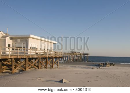 Deserted Fishing Pier