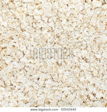 Oat flakes food background