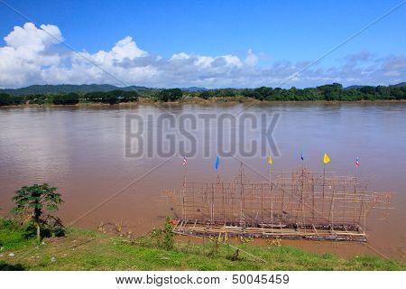 Mekong River In Chiangkhan