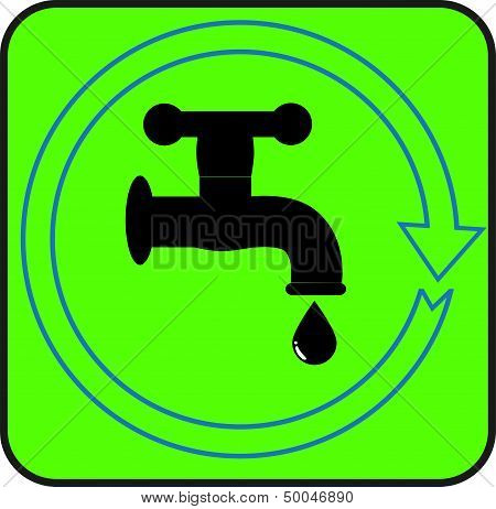 simple symbol - tap