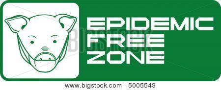 Epidemic free zone