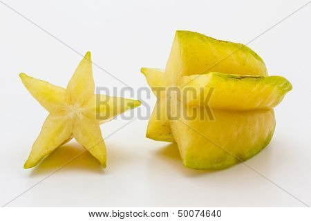 Dissect star fruit