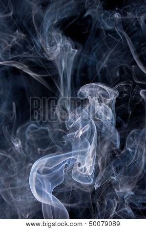 Smoke Or Steam Rising
