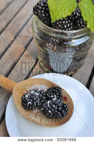 Blackberries For Homemade Jam