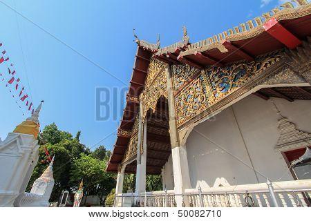 Thai temple in Lampang City