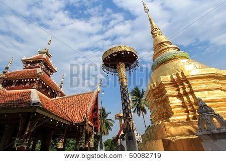 Thai Temple (Wat in Lampang)