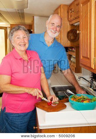 Seniors Rv - In The Kitchen