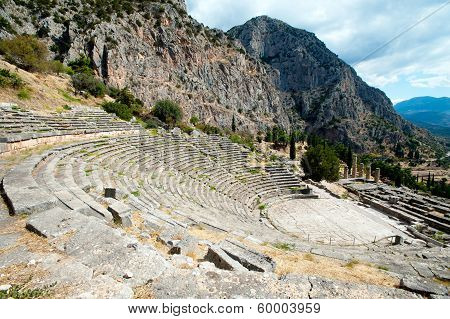 Ancient Theater, Delphi, Greece