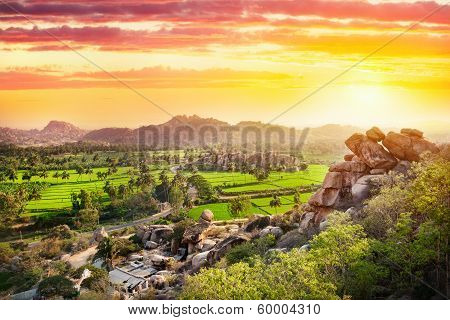Hampi Valley In India