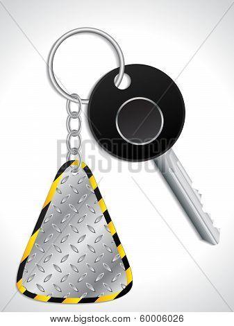 Key With Metallic Keyholder