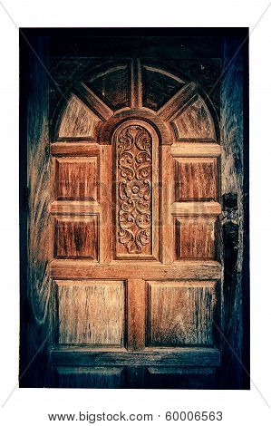 Carved Wooden Windows