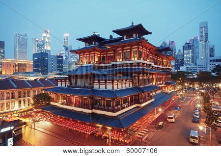 Buddha Toothe Relic Temple, Singapore