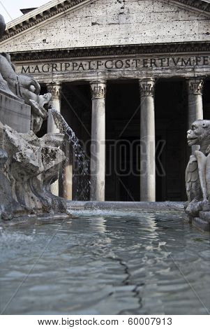 Pntheon In Rome