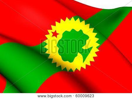 Flag Of Oromo Liberation Front