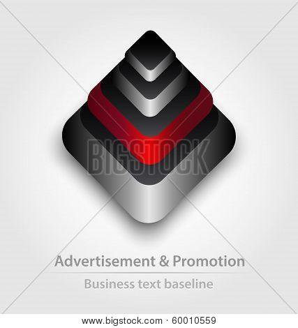 Originally designed business icon