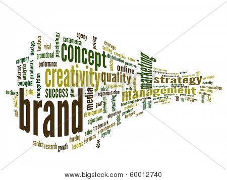 High resolution concept or conceptual 3D abstract business success word cloud or wordcloud isolated on white background