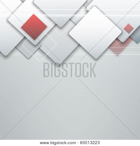corporate abstract vector style