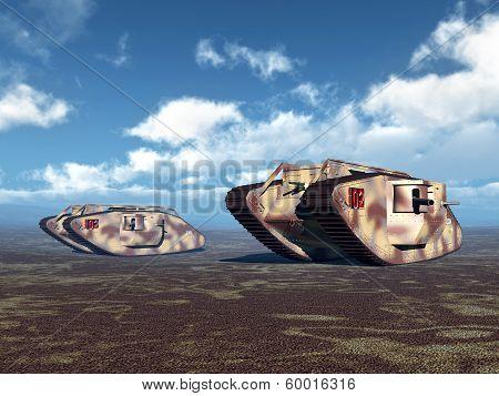 British Heavy Tanks