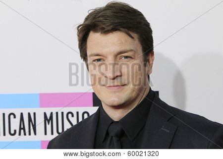 LOS ANGELES - NOV 24: Nathan FIllion at the 2013 American Music Awards at Nokia Theater L.A. Live on November 24, 2013 in Los Angeles, California