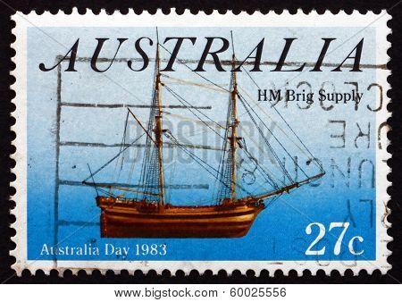Postage Stamp Australia 1983 Sailing Ship Buffalo