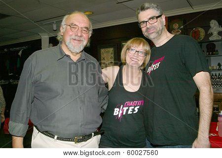 BURBANK, CA - FEBRUARY 16: Stuart Gordon, Lotti Pharriss Knowles and John Knowles attend the