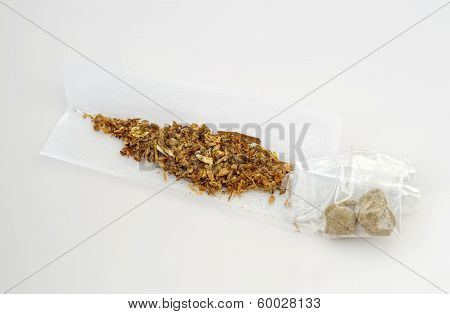 Lebanese Hash Joint cigarette isolated