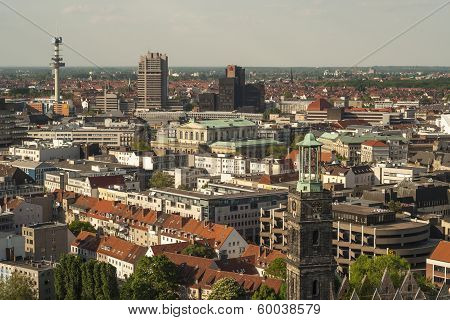 Hannover City Panorama