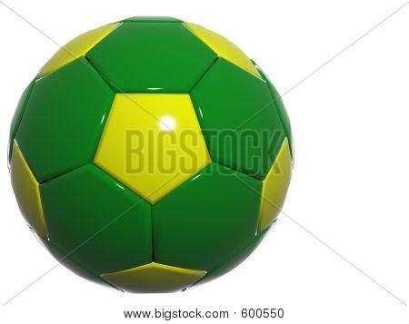 Grüne Fußball