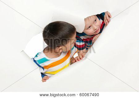 Curious Little Boys
