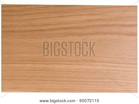 Light coloured wood with darker horizontal grain poster