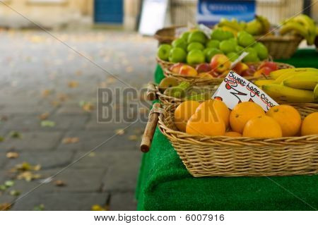 Autumn Market Stall