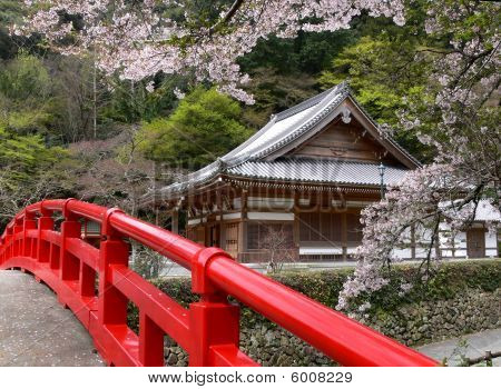Temple With Bridge