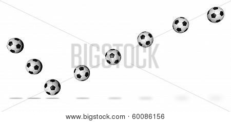 Soccer Ball Continuous Shot