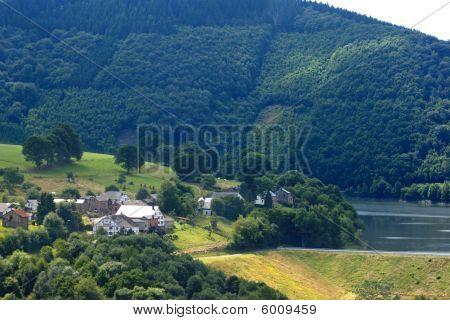 Scenery Of Belgian Ardennes