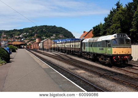 Minehead Railway Station