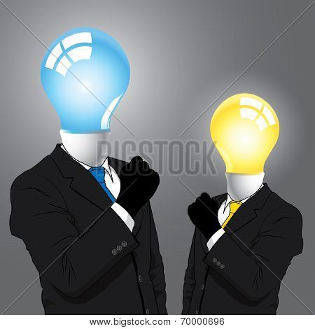Idea Business Man