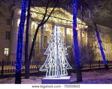 Christmas Tree, Moscow