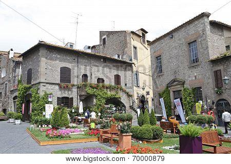 """Exhibition """"san Pellegrino In Fiore In Viterbo."""