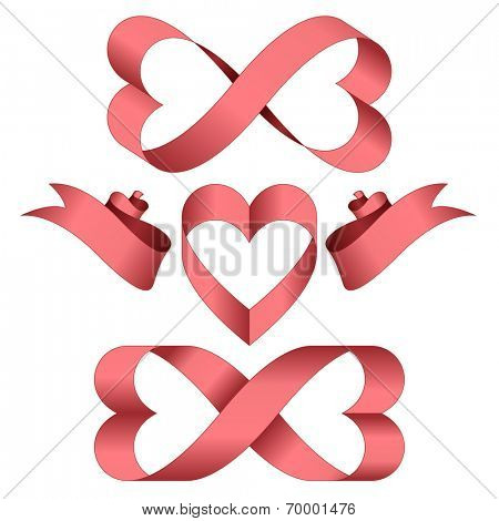 endless love pink ribbons