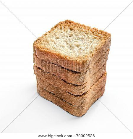 Toasts Isolated