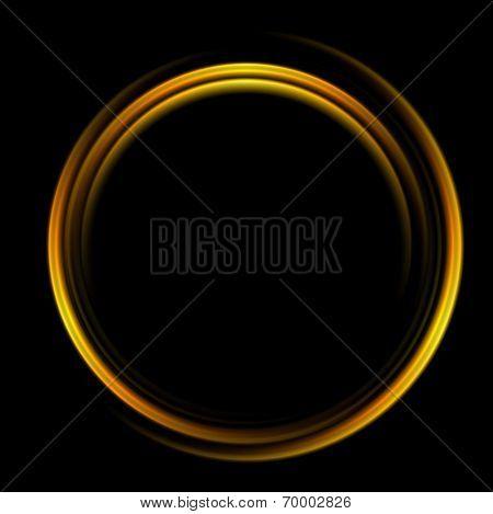 Bright abstract circle logo background. Vector design
