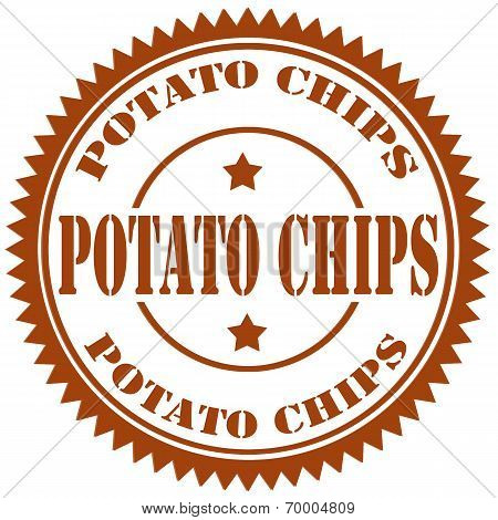 Potato Chips-stamp
