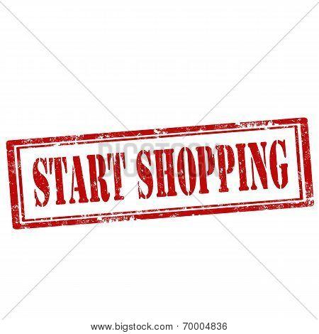 Start Shopping-stamp