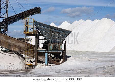 Salt and machines
