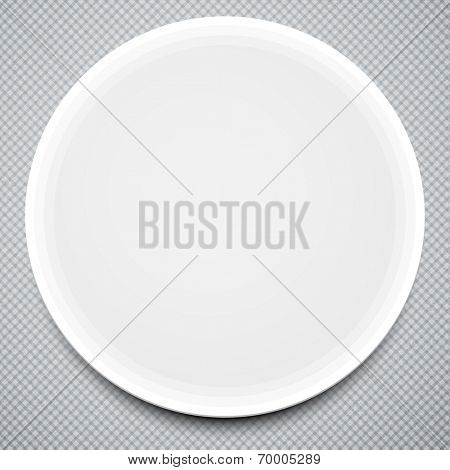 Round paper frame. Business Template