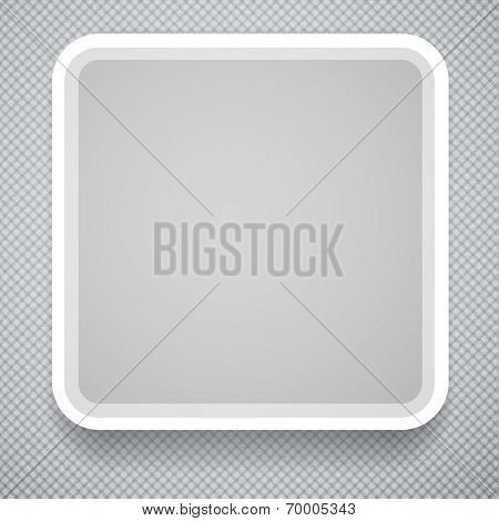 Square paper frame. Business Template