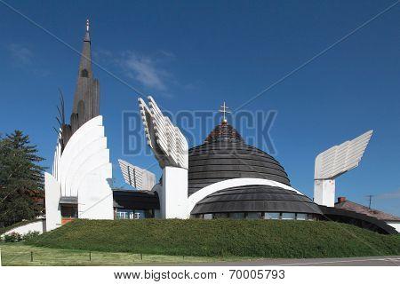 Greek Catholic Church. Csenger, Hungary