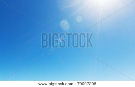 Peaceful sky