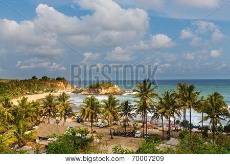 Klayar beach, Indonesia Java