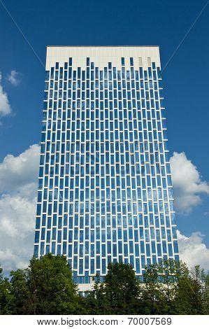 The modern business center